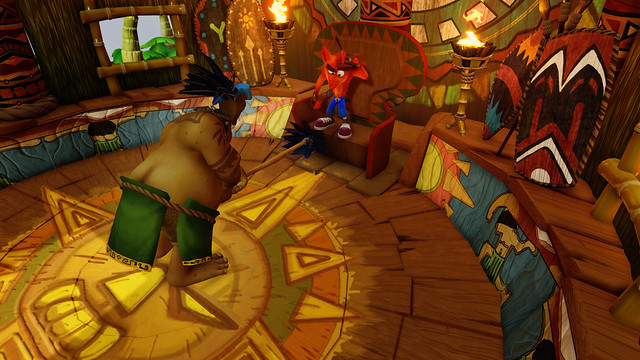 Bandicoot – The N. Sane Trilogy: Papu Papu